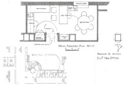 New Courthouse Legacy Foundation office floor plan