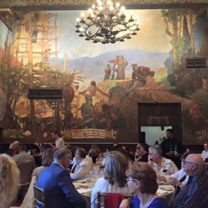 Mural Room, 2016 Central Coast Wine Classic Dinner