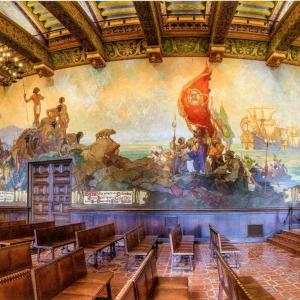 Santa Barbara Courthouse Mural Room