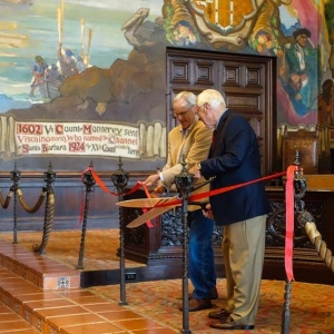 mural room ribbon cutting photo by edhat