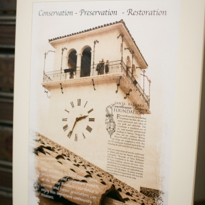 clock tower poster