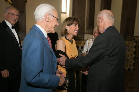 Anne and Michael Towbes with Judge George Eskin