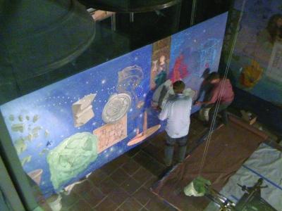 Mural install